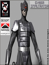 DEXSOFT-GAME Cyber Infiltrator model pack by Sasha Ollik