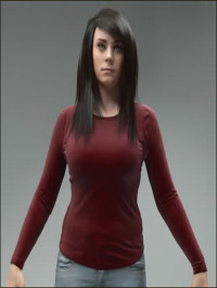 AXYZ Design High Quality Rigged 3D Woman