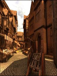 Arteria 3D Medieval Market Town