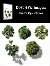 DOSCH DESIGN 2D Viz-Images Bird's Eye Trees