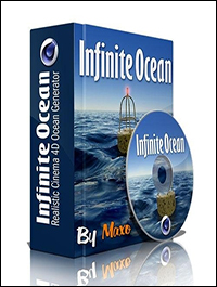 Infinite Ocean 1.34 For Cinema 4D R12 – R15 WIN