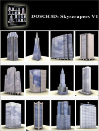 DOSCH DESIGN 3D Skyscrapers V1