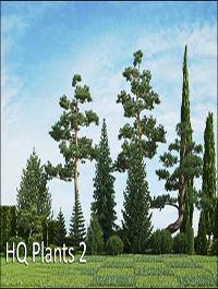 HQ Plants vol.2 for Cinema4D