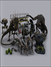 Unity Sci fi Characters Mega Pack 1.01