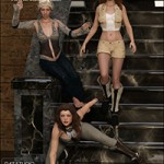 Temple of Anubis Poses for Genesis 3 Female
