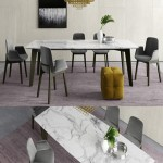Poliform Howard Table and Ventura Chairs