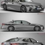 Lexus LS 500 2018 3D