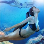Z Underwater – Swimming Poses for Genesis 3 Female