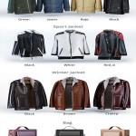 Windbreaker casual jacket men winter jacket Bag