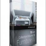 CGAxis Models Volume 38 Furniture IV