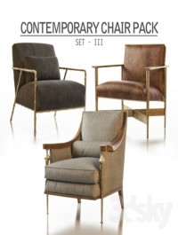 Contemporary Chair Pack Set III