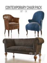 Contemporary Chair Pack Set IV