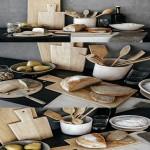 Decoration for kitchenware