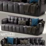 Sofa Herman NATUZZI ITALIA