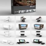 DigitalXModels 3D Model Collection Volume 1: Bar