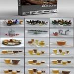 DigitalXModels 3D Model Collection Volume 2: Booze