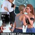 Z Utility Series : Greetings – Poses and Partials for Genesis 3 & 8