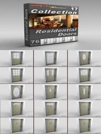 DigitalXModels 3D Model Collection Volume 17 RESIDENTIAL DOORS