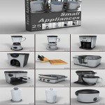 DigitalXModels – 3D Model Collection – Volume 23: SMALL APPLIANCES