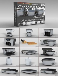 DigitalXModels - 3D Model Collection - Volume 23: SMALL APPLIANCES