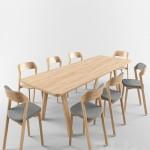 Ton Merano chair Table stelvio