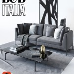 B & B Italia Sofa Charles