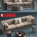 Fratelli Longhi MASON 3-Seates Sofa