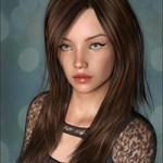 Faith Hair for Genesis 3 Female(s)