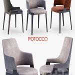 Potocco Velis chair, armchair, tub chair