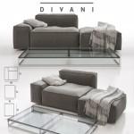 Living Divani – NeoWall Sofa Composition II