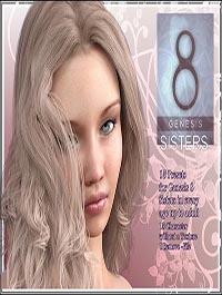 Sisters- Genesis 8 Female by LUNA3D