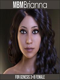 MbM Brianna for Genesis 3 & 8 Female by Heatherlly
