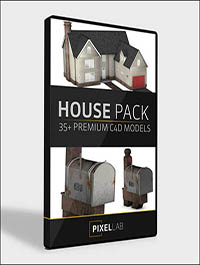 Introducing the 3D House Pack - The Pixel Lab