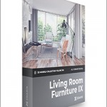 CGAxis 3D Models Collection Volume 106 Living Room Furniture IX