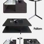 POLIFORM COFFEE TABLES BRISTOL & CLASS & BABA