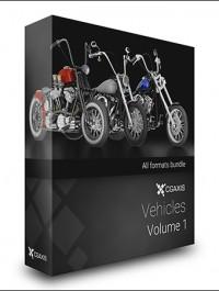 CGAxis Vehicles Volume 1