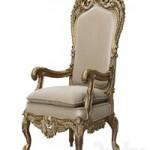 Asnaghi Interiors Throne Armchair art.19246