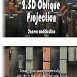 2.5D Oblique Projection