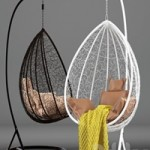 Suspended swing chair Fresco Maxi