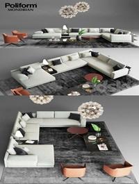 Poliform Mondrian Sofa 1