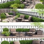 Terrace balcony penthouse