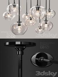 Branching bubble 1 lamp