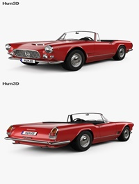 Maserati 3500 Spyder 1959 3D Model