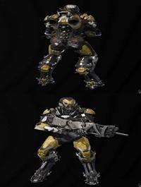 Anthem Warrior Suit