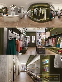 360 Interior Design 2019 Clothing Store I34