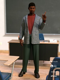 dForce Hudson Outfit for Genesis 8 Male(s)
