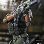Tactical Assault Rifle & Addons for Tactical Assault Outfit
