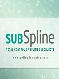 SubSpline v1.11 for 3ds Max