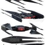 STAR WARS Kylo Ren's TIE silencer