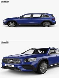 Mercedes-Benz GLB-class AMG-Line 2019 3D model